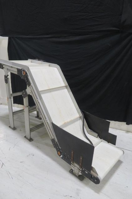 Dorner Used LPZ3201524 Single Conveyor, Horizontal-Incline-Horizontal, 220V, Yr. 2007