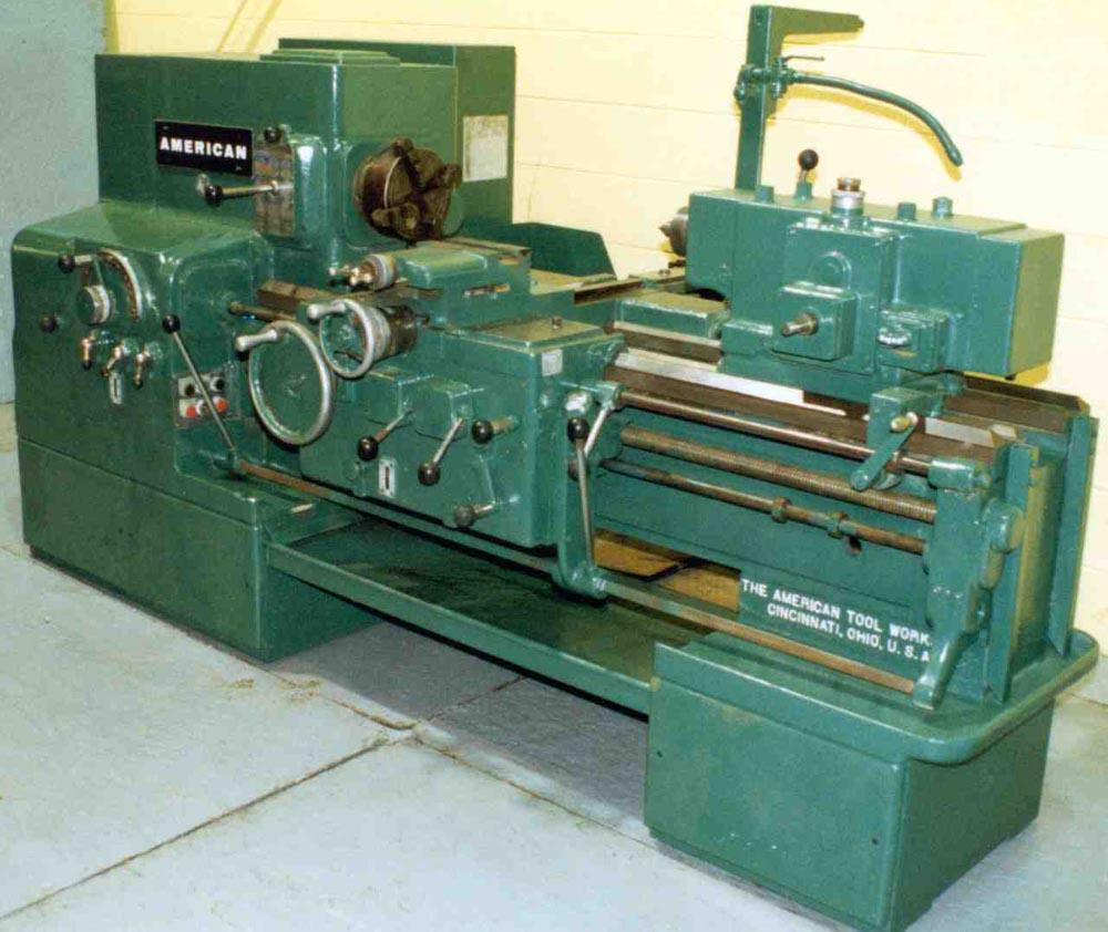 20' X 30' AMERICAN HEAVY DUTY ENGINE LATHE: STOCK #9778