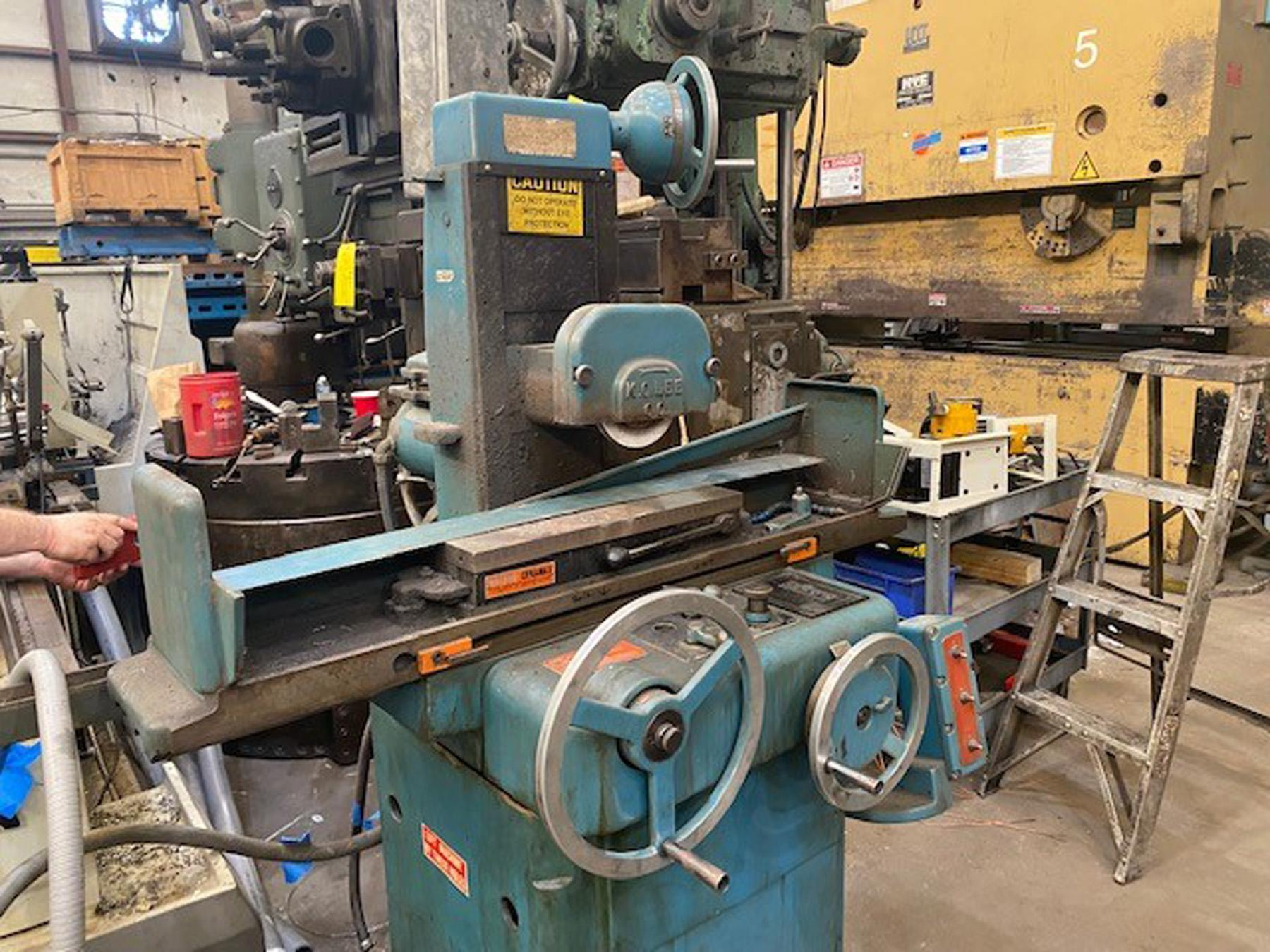 """USED, 6"""" X 18"""" K.O. LEE MODEL S718 RECIPROCATING TABLE SURFACE GRINDER"""