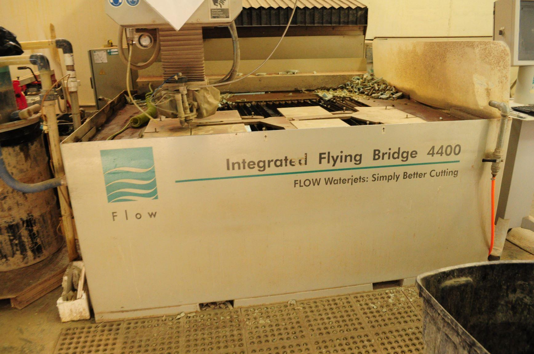 Flow IFB 4400 Dynamic Waterjet Cutting System - 2006