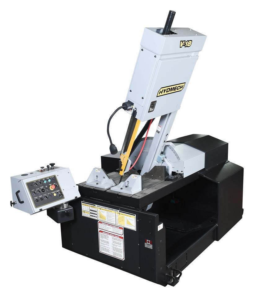 "NEW - 31""H x 18""W HYD-MECH V-18 VERTICAL TILT FRAME BAND SAW"