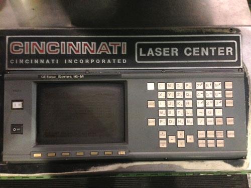CINCINNATI CL-7 LASER, FANUC 16