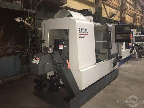 FADAL VMC-2216HT Vertical Machining Centers