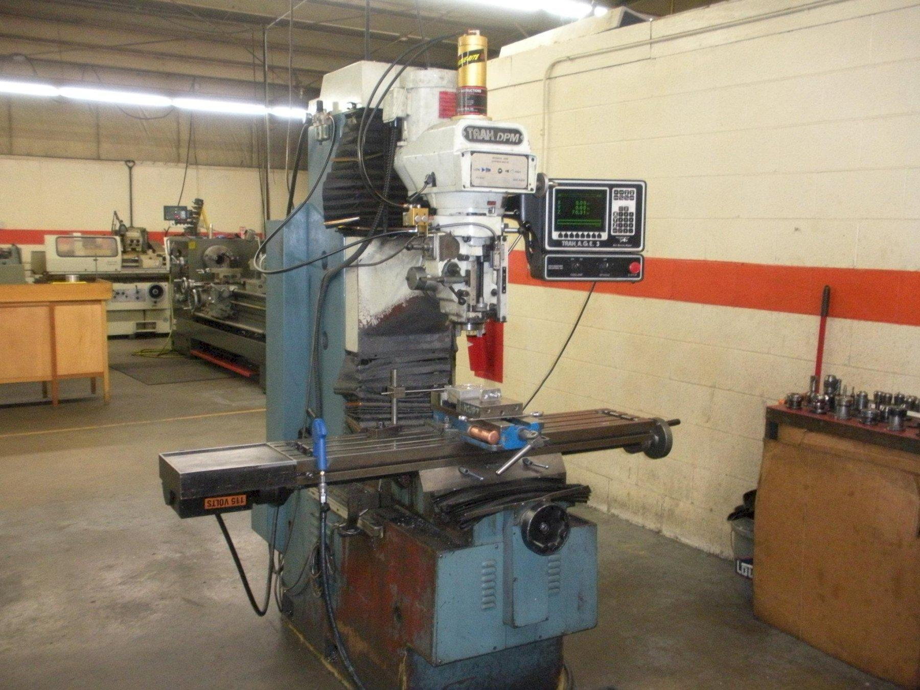 TRAK DPM CNC BED MILL