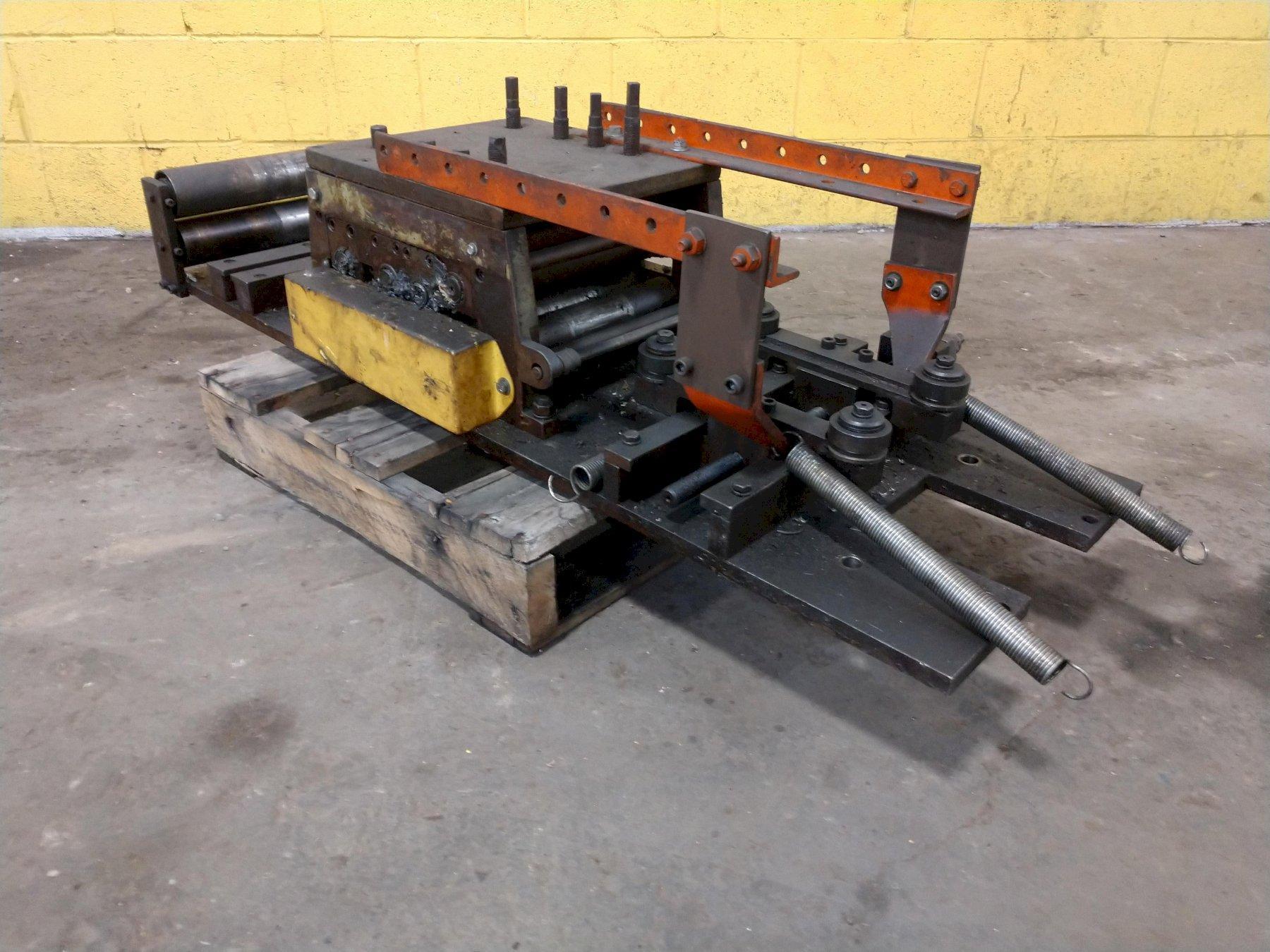 """10""""  X 5 ROLL STRIP STRAIGHTNER WITH ENTRY GUIDE: STOCK 14865"""