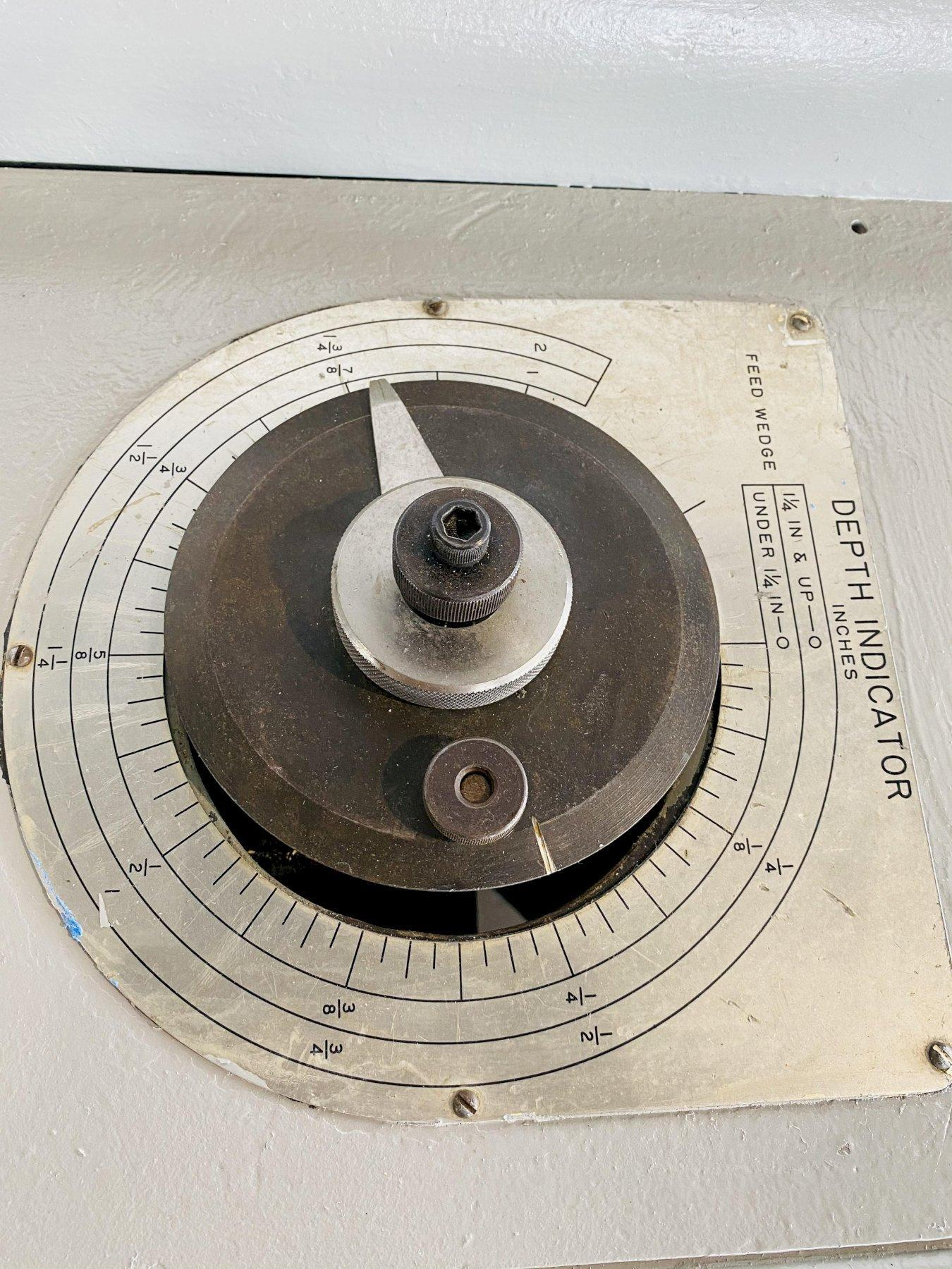 """5"""" X 60"""" MITTS & MERRILL MODEL #9B HYDRAULIC KEYSEATER. STOCK # 1262520"""
