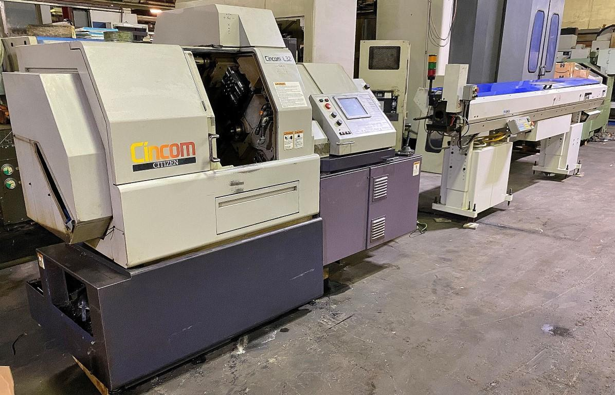 Citizen Model L32 CNC Swiss Type Automatic Lathe