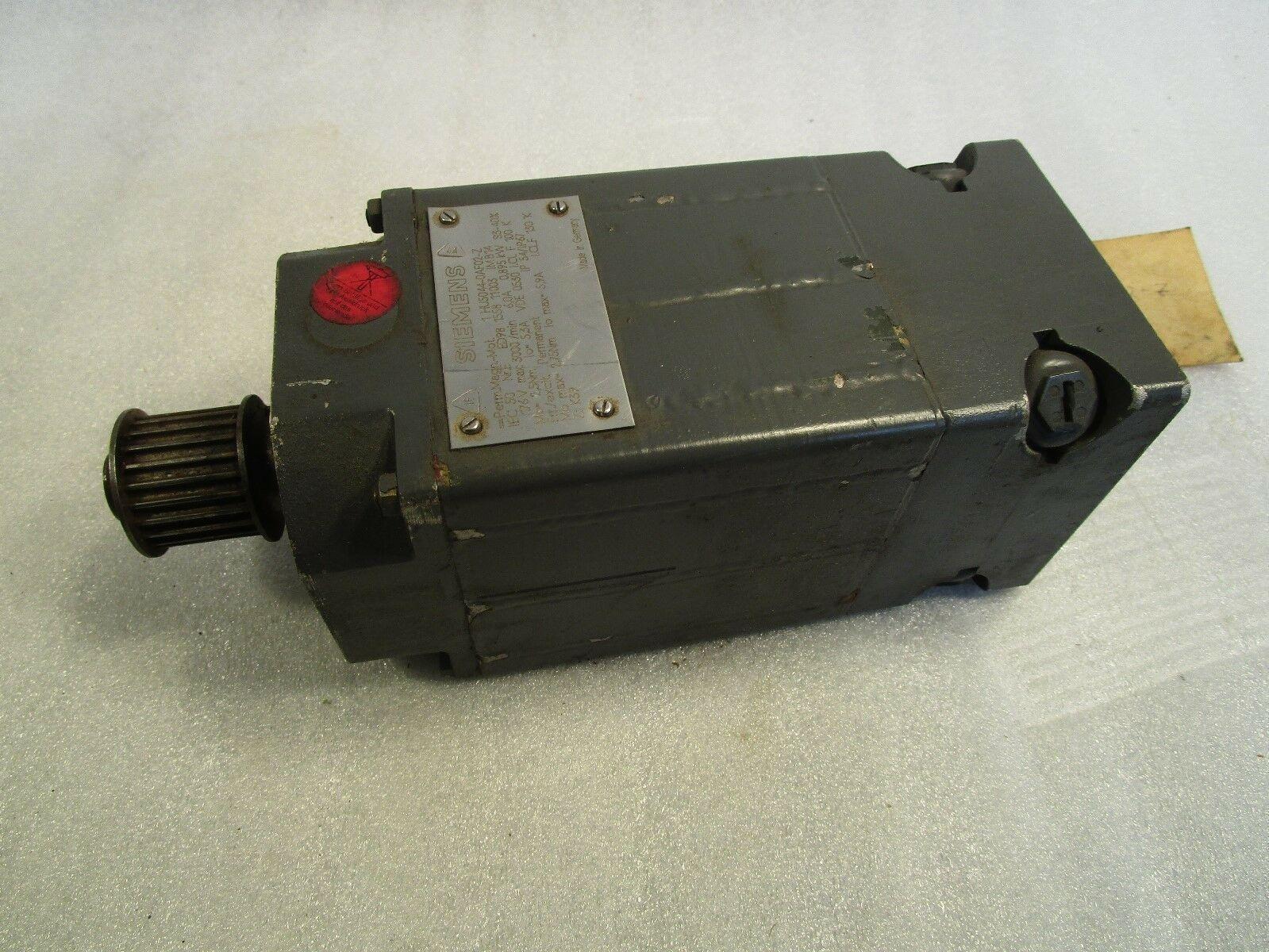 Siemens General Numeric Servo Motor 1HU5044-0AF02-Z