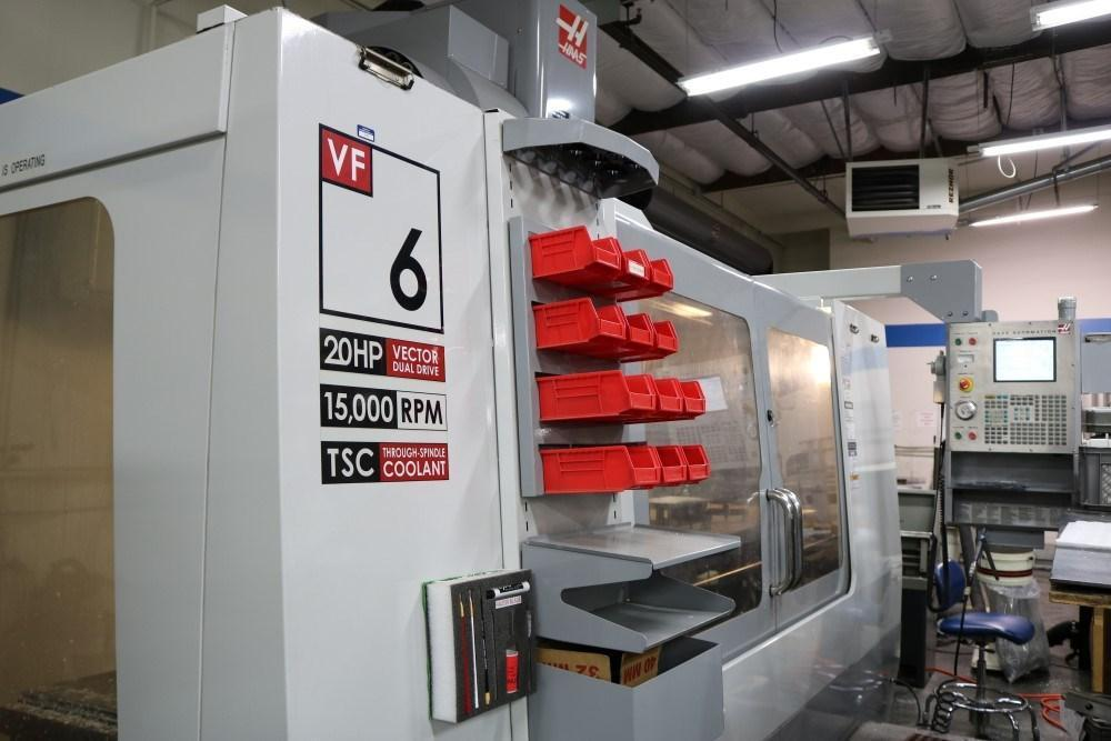 Haas VF6D/40 CNC Vertical Machining Center with Coolant Thru Spindle