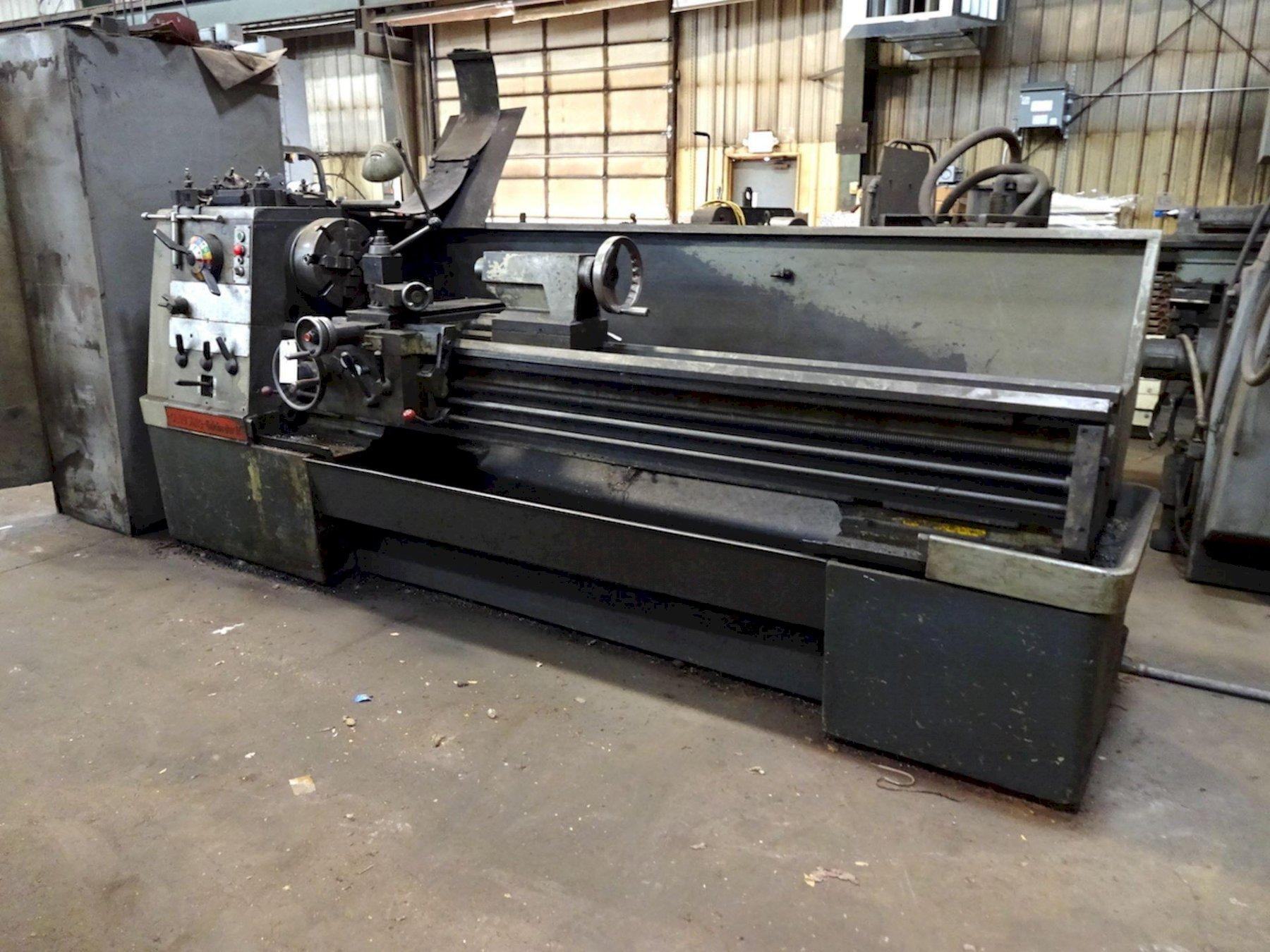 "17"" X 80"" CLAUSING COLCHESTER ENGINE LATHE: STOCK #73721"