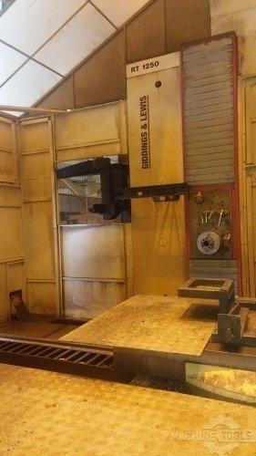 GIDDINGS & LEWIS RT 1250 Horizontal Table Type Boring Mills