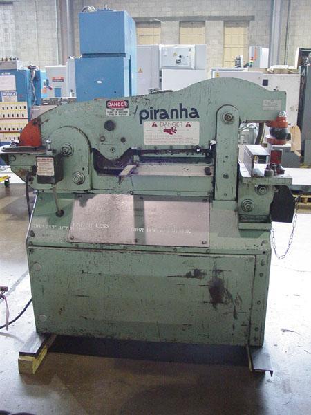 50 Ton Piranha Iron Worker