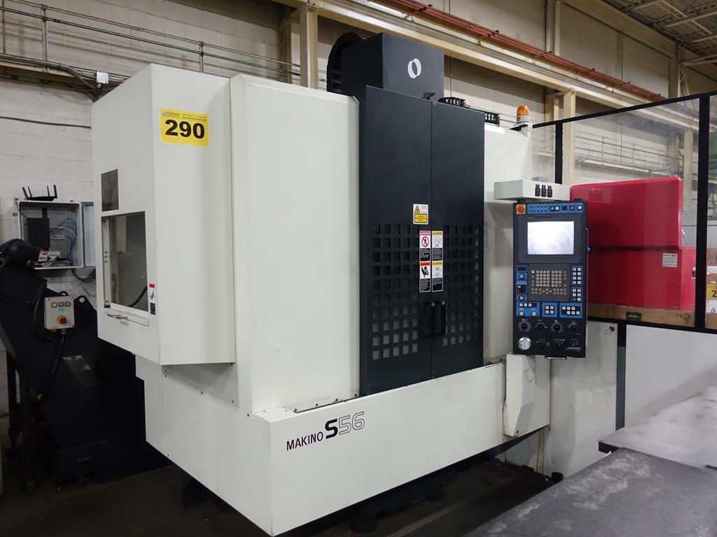 MAKINO S56 CNC VMC