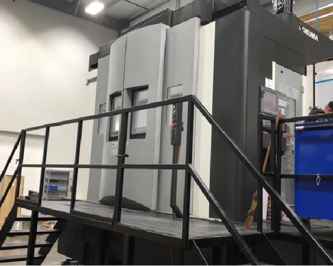 Okuma VTM-2000YB 5-Axis CNC Vertical Lathe