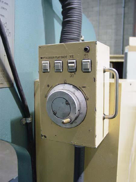 "88 TON X 8' AMADA CNC Hydraulic Press Brake, NC9-EX Control, 2-Axis Backgauge, 96"" Over All, 80.8"" Between Housings, 15.75"" Throat, 10.64"" Shut Height, 4"" Stroke, New 1985."