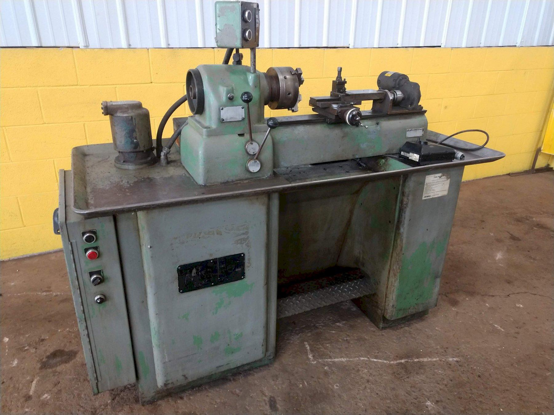 HARDINGE MODEL DSM 59 FACING / ENGINE LATHE: STOCK #13153