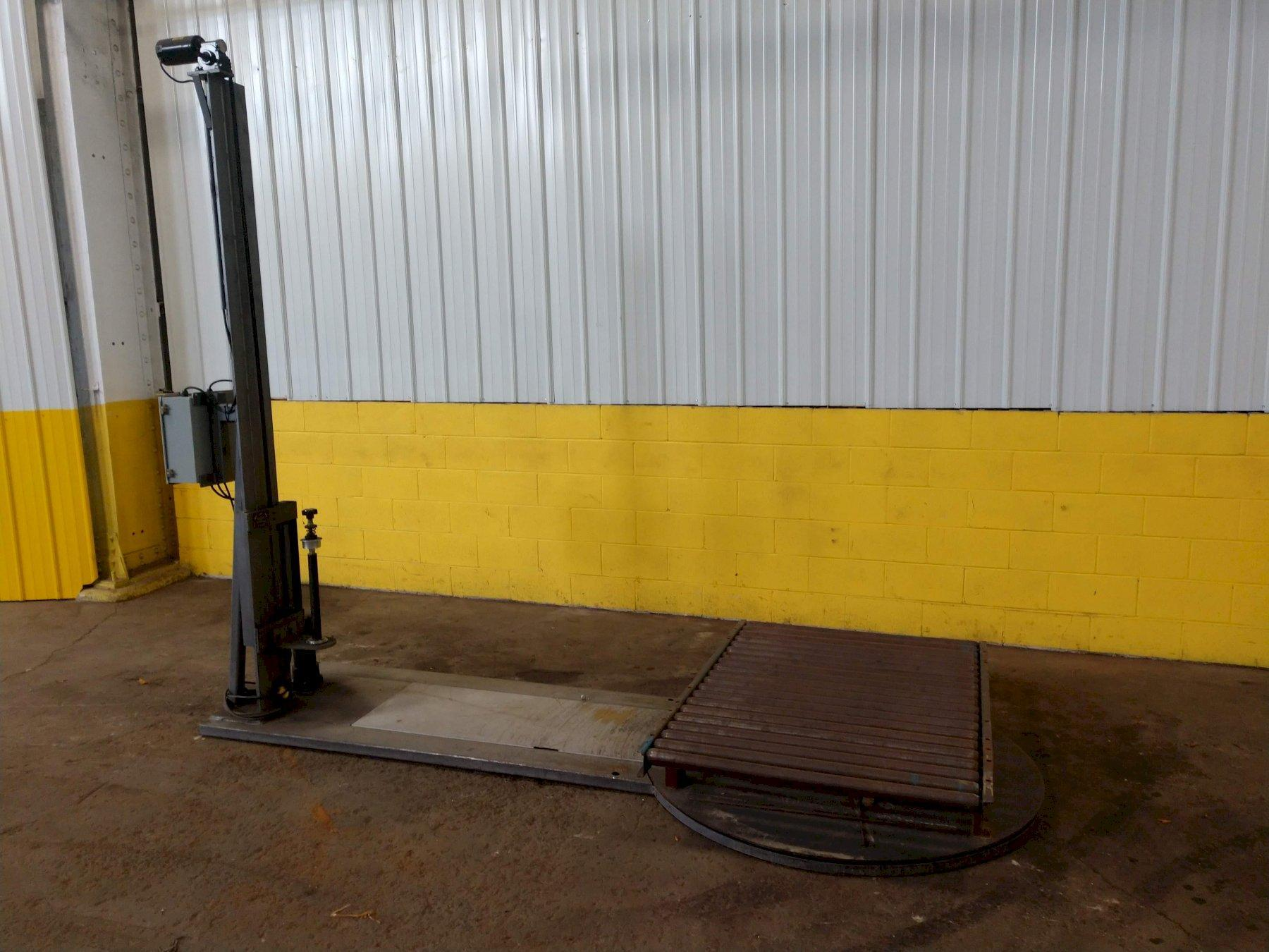 AMERIPAK COUSINS MODEL #PUP 2002 ROTARY TABLE PALLET STRETCH WRAPPER: STOCK #13602