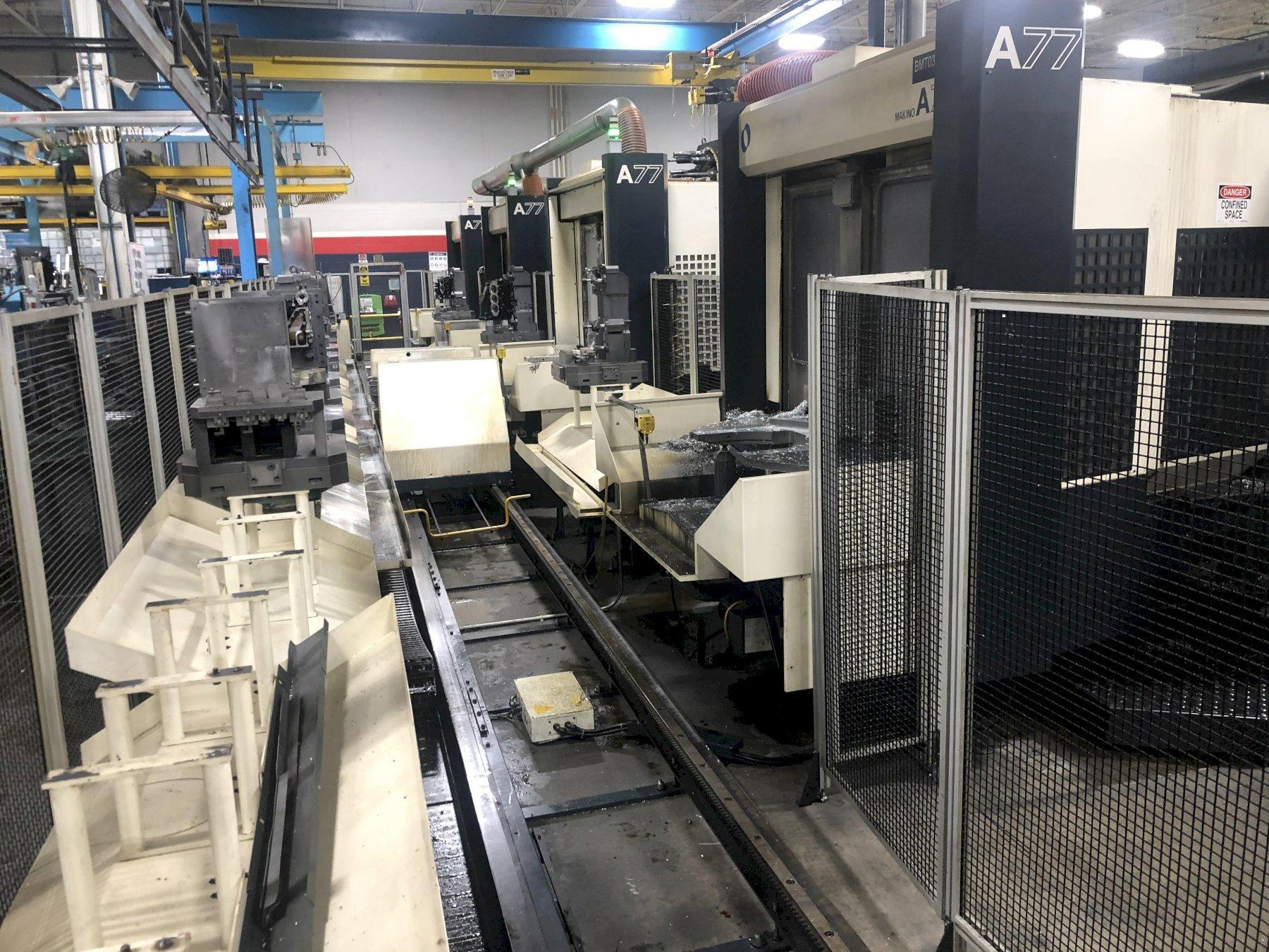 Makino A77 Horizontal Machining Center