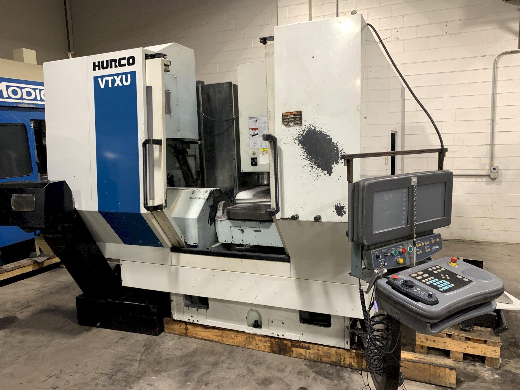 Hurco VTXU 5-Axis Trunion Type Vertical Machining Center
