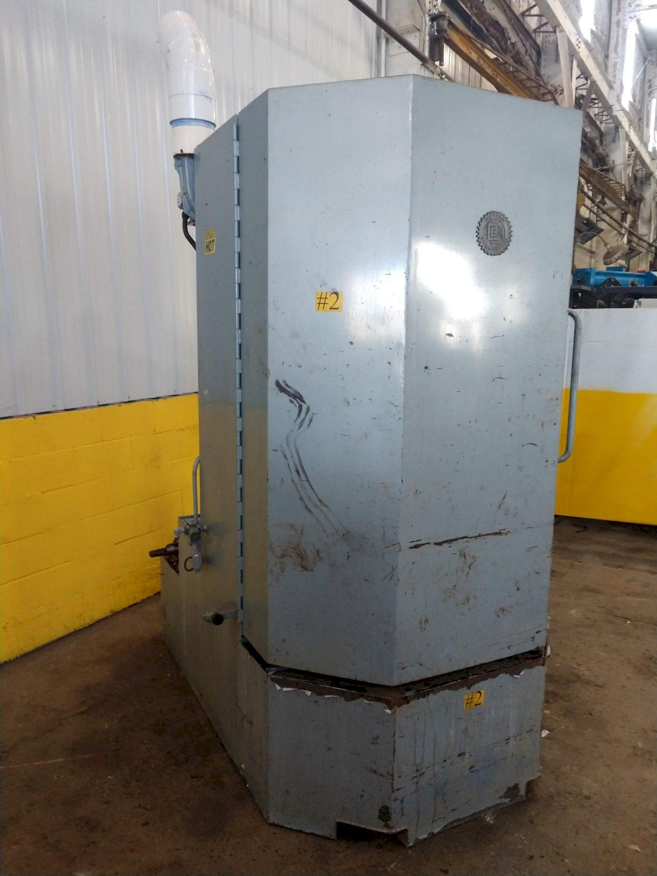 "40"" X 60"" BETTER ENGINEERING MODEL #F4000-LX-P-ZX ROTARY TABLE PARTS WASHER: STOCK #14039"