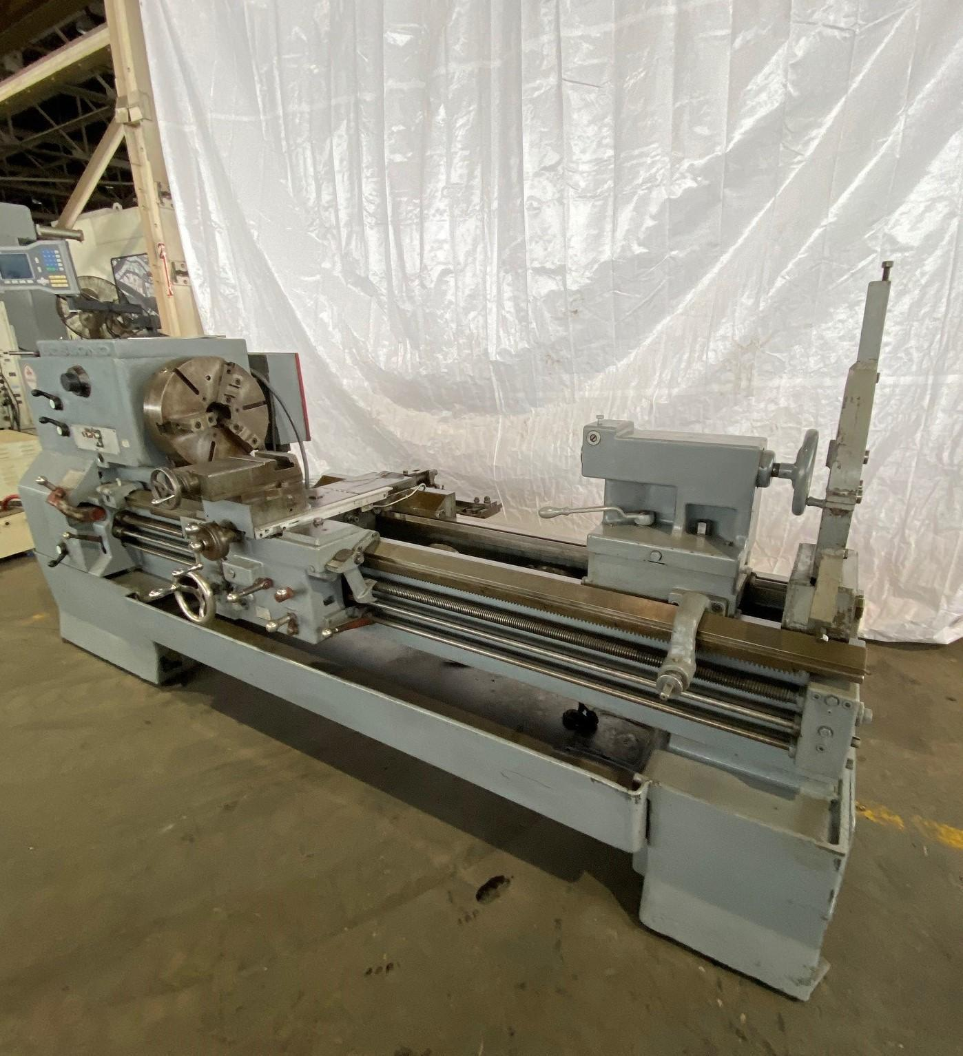"25"" X 72"" LEBLOND REGAL ENGINE LATHE. STOCK # 0100720"