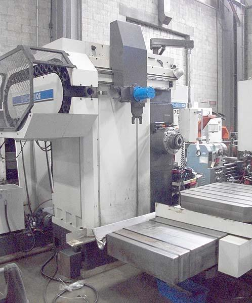 "4.33"" TOSHIBA SHIBARUA CNC TABLE TYPE, Model BTD-200QE, Toscnuc 732 CNC Control, 39.5"" x 39.5"" Rotary Table, X=47"", Y=31.5"", W=27.5"", Z=15.7"", 30 Station Tool Changer, 1600 RPM, New 1995."
