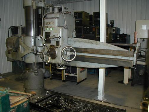 1 - PREOWNED MORRIS RADIAL ARM DRILL, MODEL: 6544, S/N: A1645
