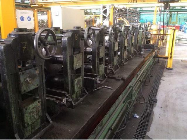 15 Stand Arrasate P-16 Channel Complete Rollforming Line