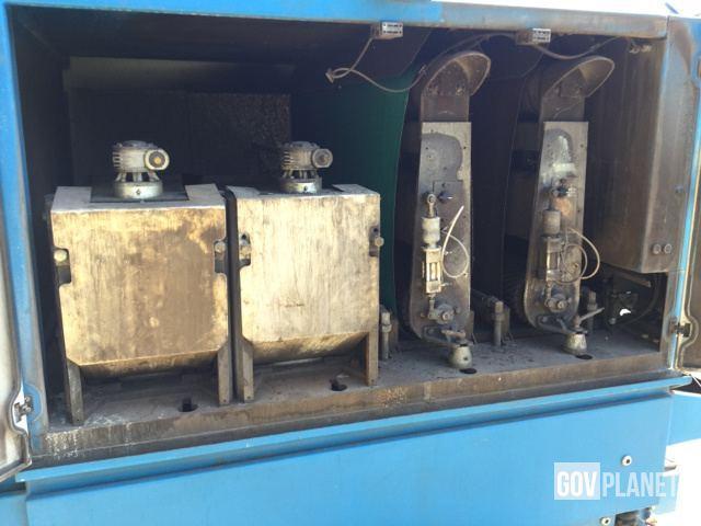 Butfering Steelmaster SPW 413 RRTT Deburring Machine