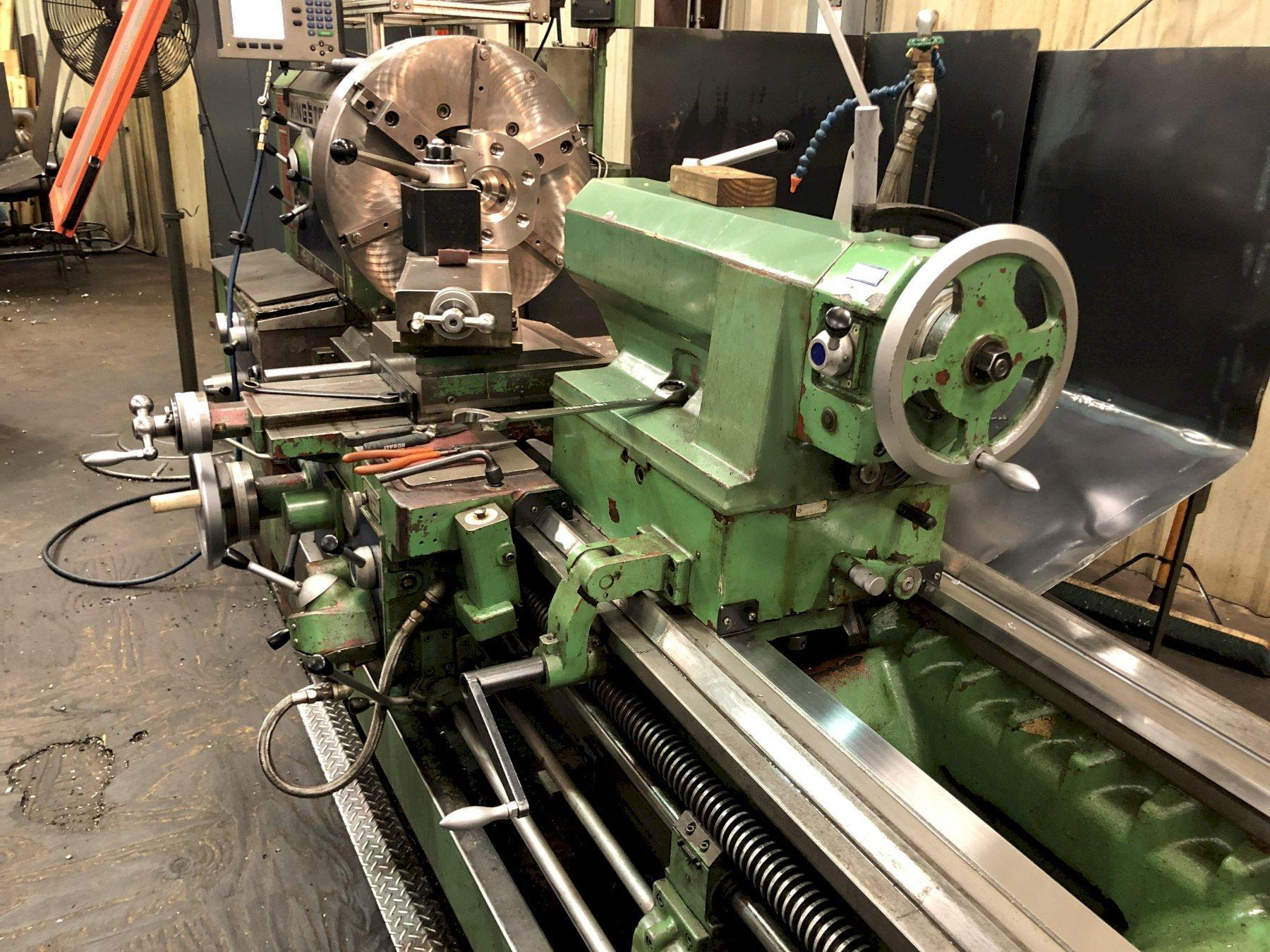 "USED, 30"" x 80"" KINGSTON HEAVY DUTY 30, MODEL HR 2000 ENGINE LATHE"