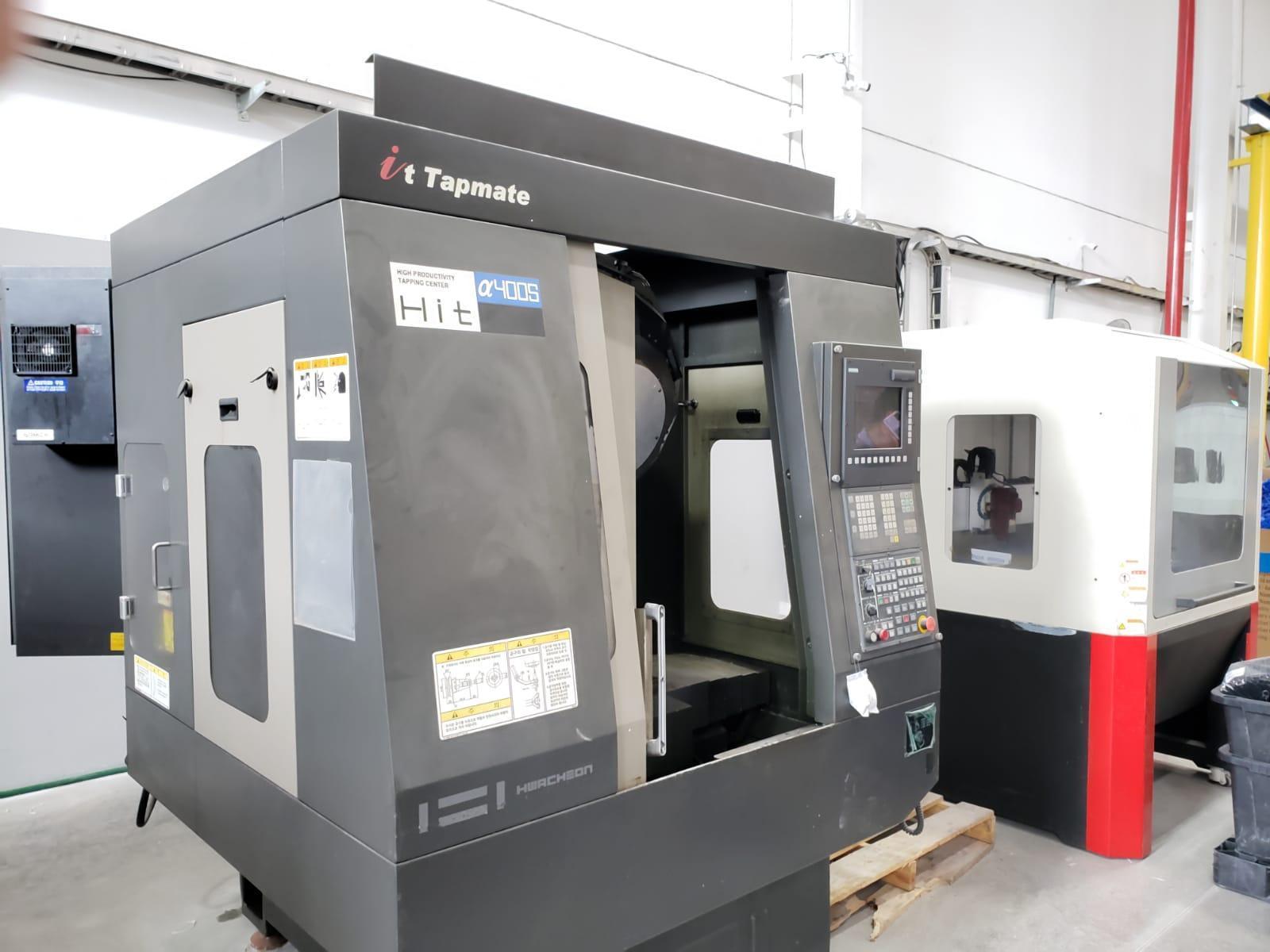 Hwacheon HIT 400s CNC Drill & Tapping Machine