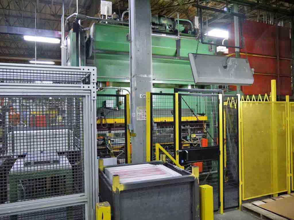 200 Ton Pacific Hydraulic Press