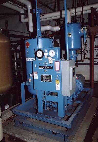 50 HP QUINCY WATER COOLED VACUUM PUMP: STOCK #50274