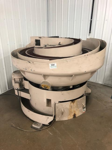 10 cu ft ROTOFINISH MULTIPASS VIBRATORY BOWL WITH DRYING