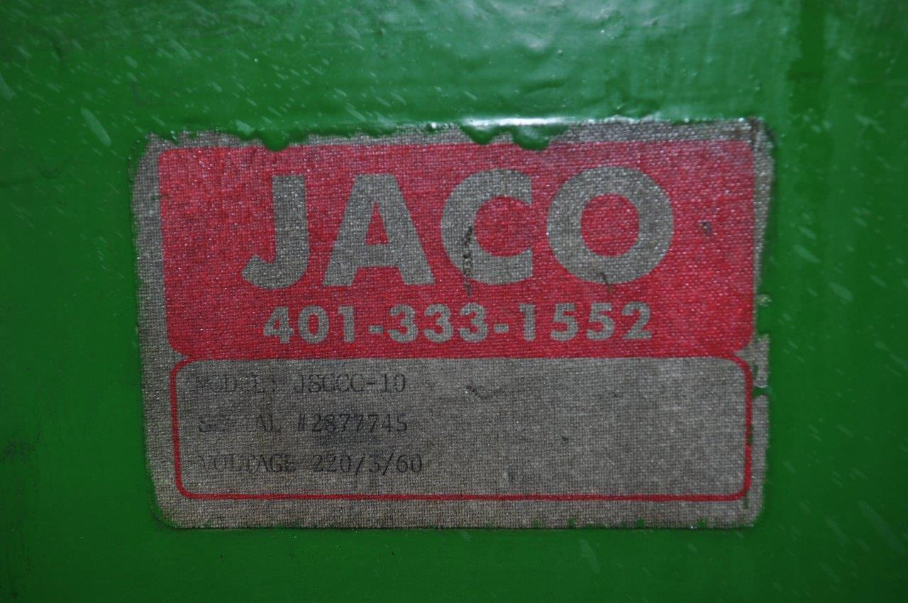 "2500 LB x 10"" x .125"" Jaco Coil Cradle Straightener"