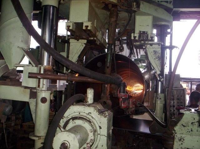 """78"""" (2000mm) x .63"""" (16mm) Emil Wolf Spiral Pipe Mill"""