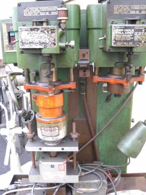 Snow 2SPDR-2-S 2 Spindle Driller/Tapper