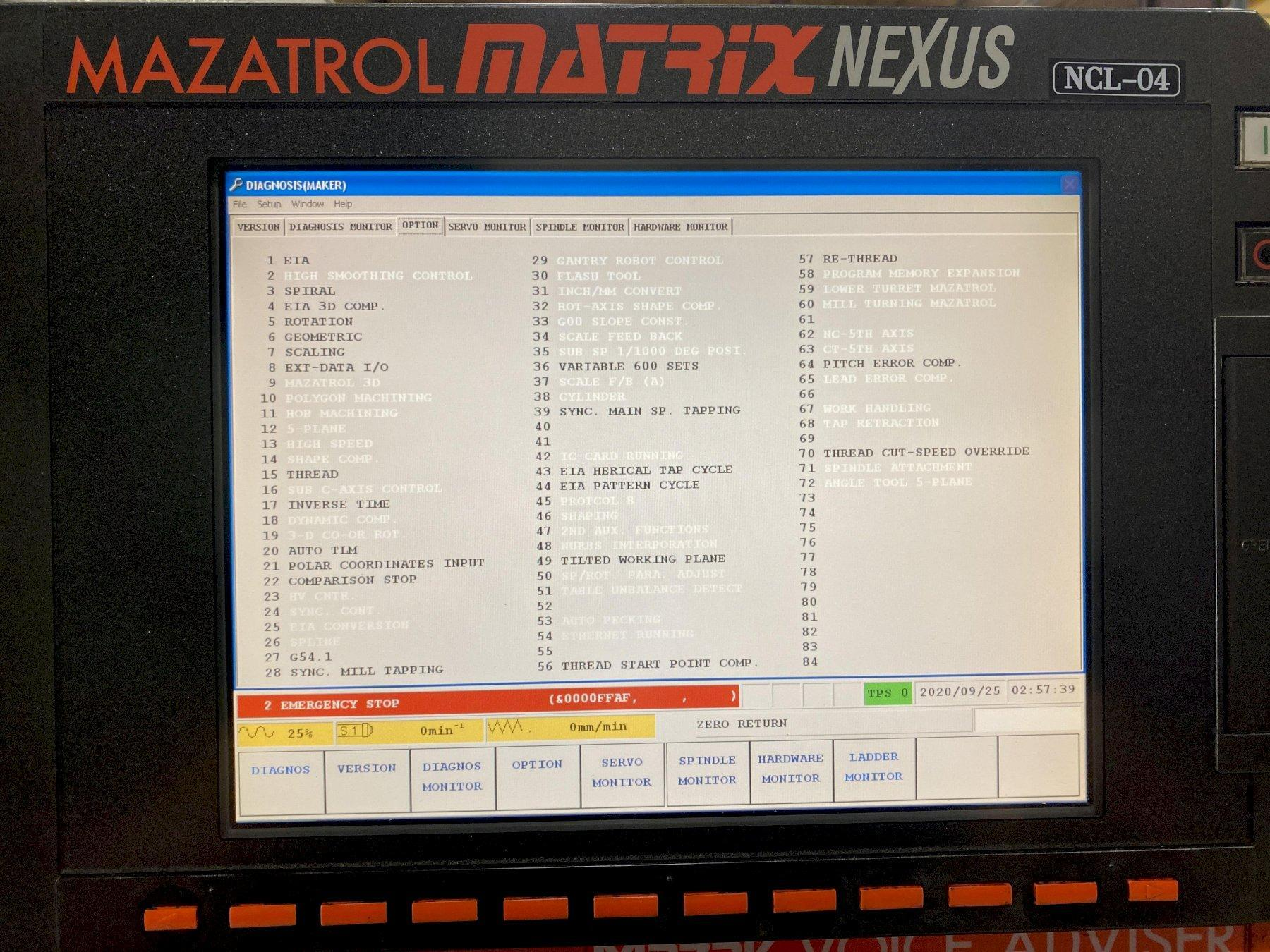 Mazak QTN-350 II CNC Horizontal Lathe 2010
