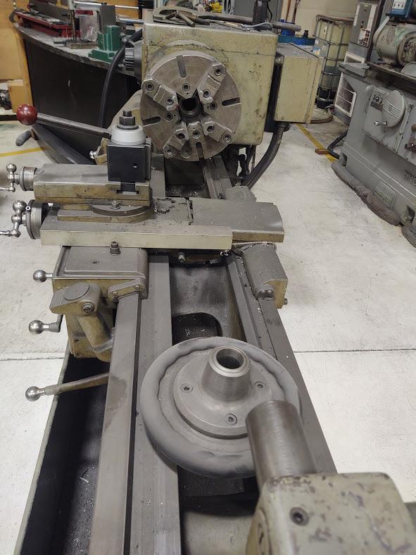 "15"" x 54"" LeBlond Regal Servo Shift Engine Lathe, S/N 4C501, New 1960."