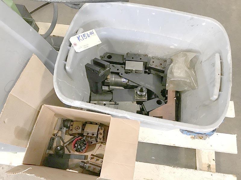 "LICO LNC42, Mitsubishi 520 CNC control, 10.2"" swing, 1.6"" chuck, 3"" spindle bore, 8 position turret, 1995."