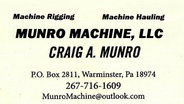 Machinery Hauling & Rigging services in the Tri-State Area
