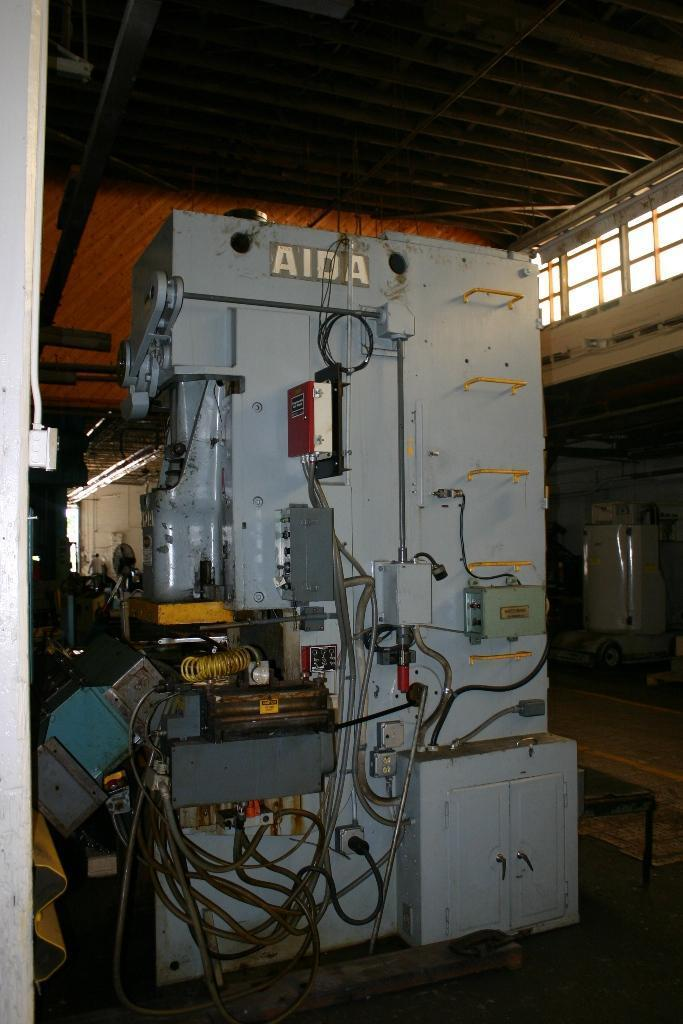 110 TON AIDA MODEL #PC-10 GAP FRAME PRESS:  STOCK #63885