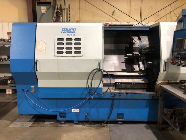 FEMCO HL-55S CNC Box Way Lathe