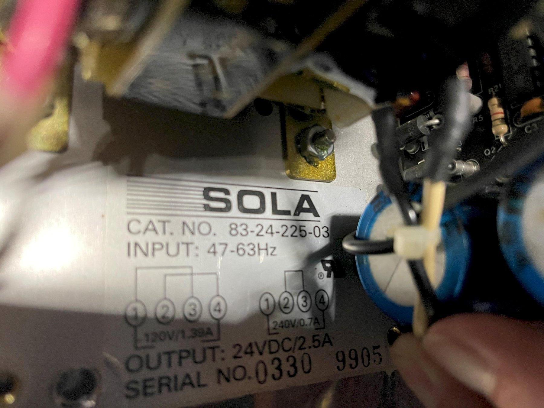 Sola Industrial Transformer