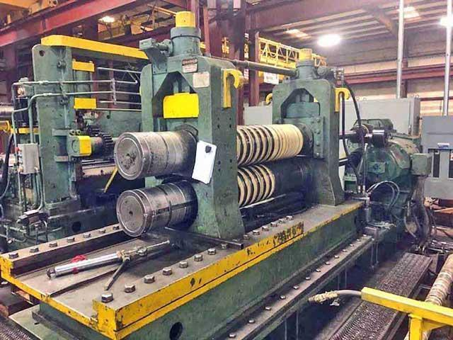 "72"" x 10.00"" x 60,000# Cincinnati Driven Loop Slitting Line (13819)"