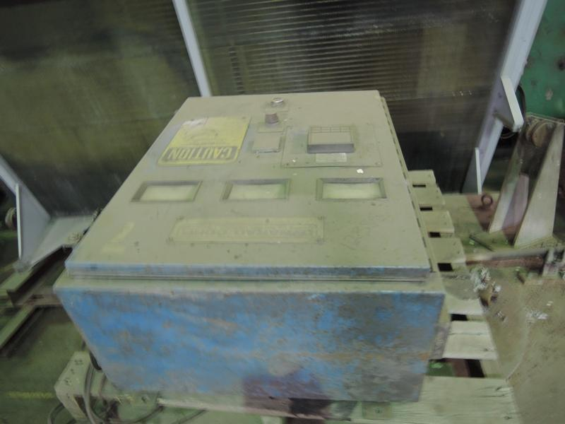 DYNARAD MODEL MS-400 700# ELECTRIC RESISTANCE FURNACE S/N 419 RATED AT 80 KW WITH CONTROL PANEL, RATED AT 400# PER HOUR