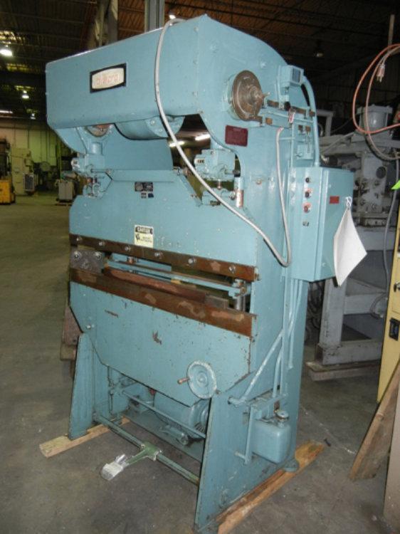USED DIACRO HYDRO-MECHANICAL PRESS BRAKE, Model 14-48-2, 17 ton x 4', Stock No. 9750