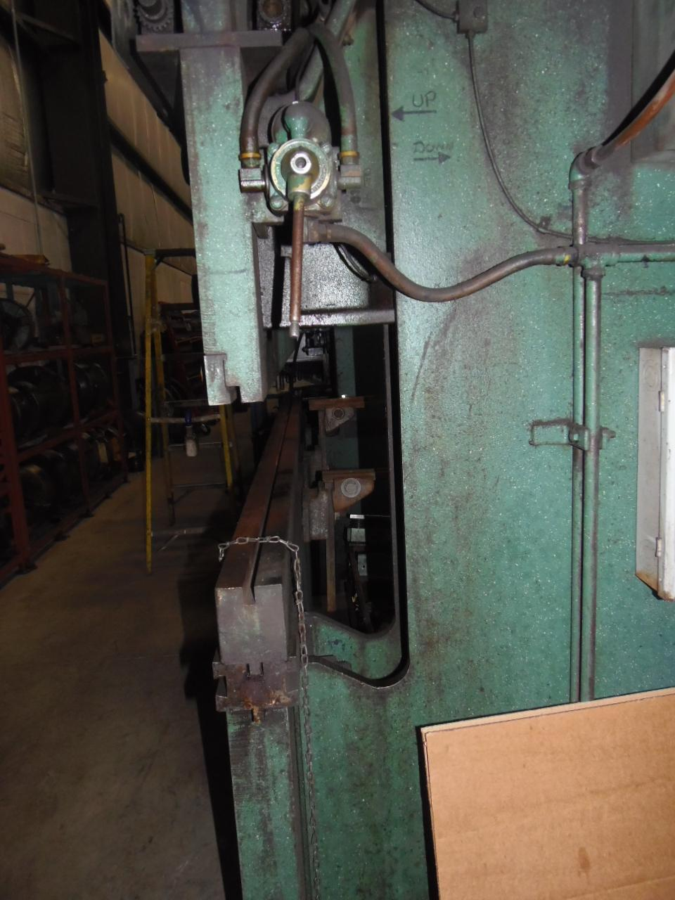 "70 TON X 8' HEIM,  MODEL 70-8, 78"" BETWEEN HOUSINGS, DIE RAIL, 1972"