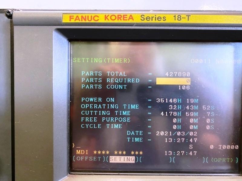 HWACHEON HI-ECO 21HS CNC TURNING CENTER