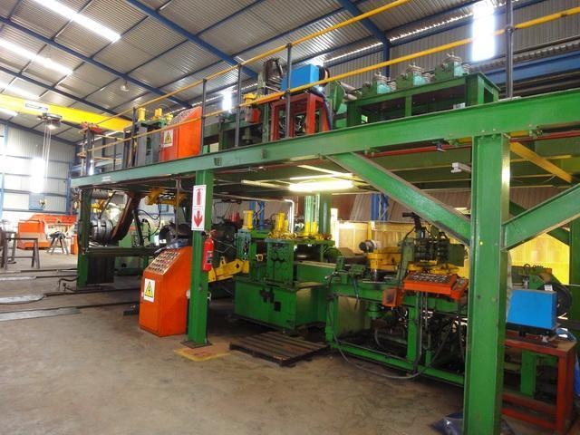Continuous Welded I-Beam Line